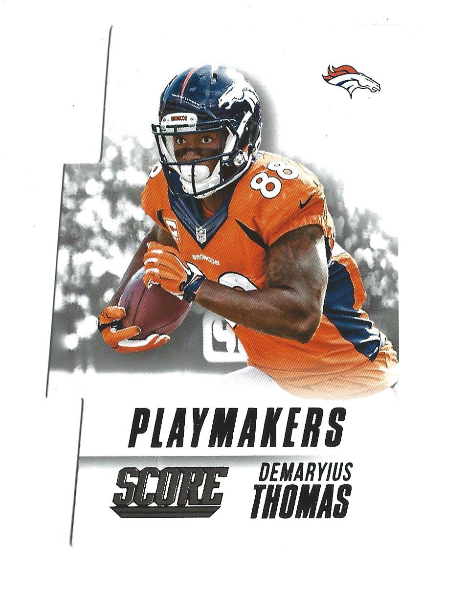 e95d32c9 Details about 2015 Score Playmakers #6 Demaryius Thomas Broncos