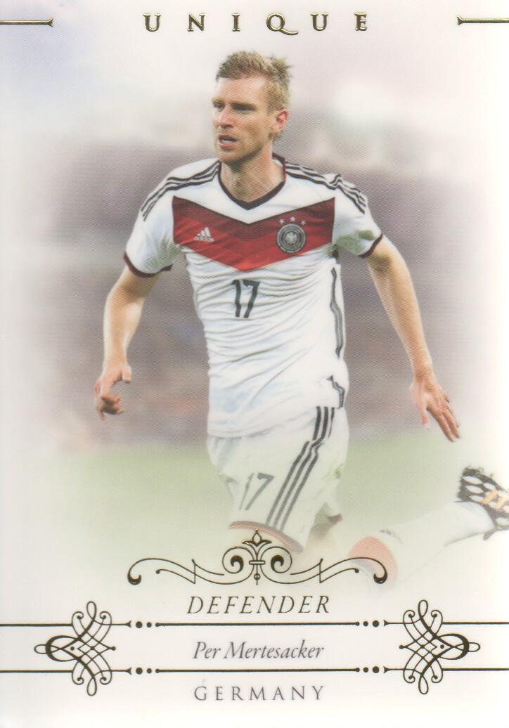 2015 Futera Unique Football Soccer Card Germany MARIO GOTZE Mint