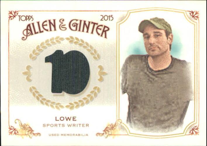 2015 Topps Allen and Ginter Relics #FSRBZL Zach Lowe B