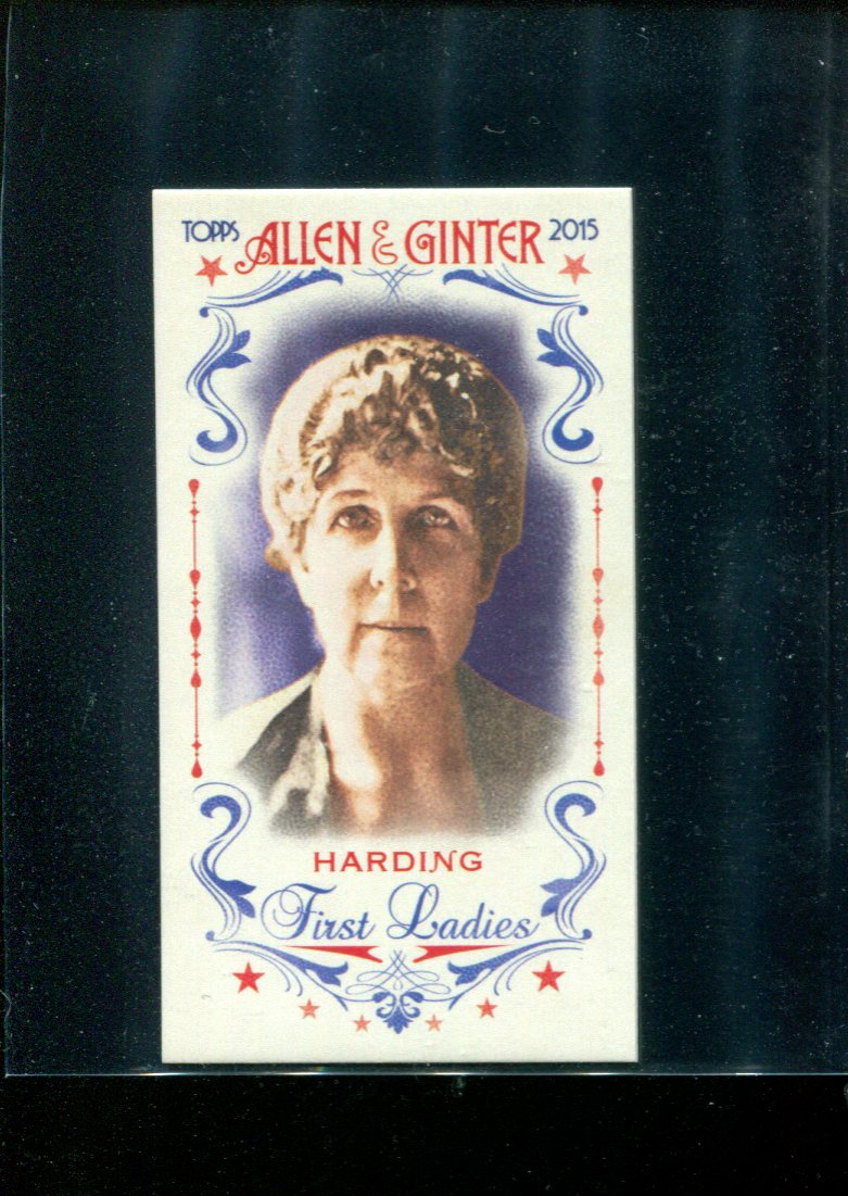 2015 Topps Allen and Ginter Mini First Ladies #FIRST27 Florence Harding