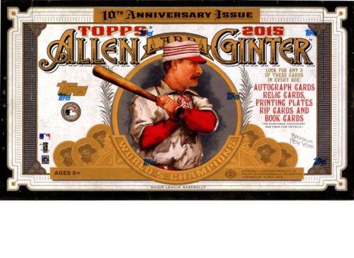 2015 Topps Allen and Ginter Baseball Hobby Box