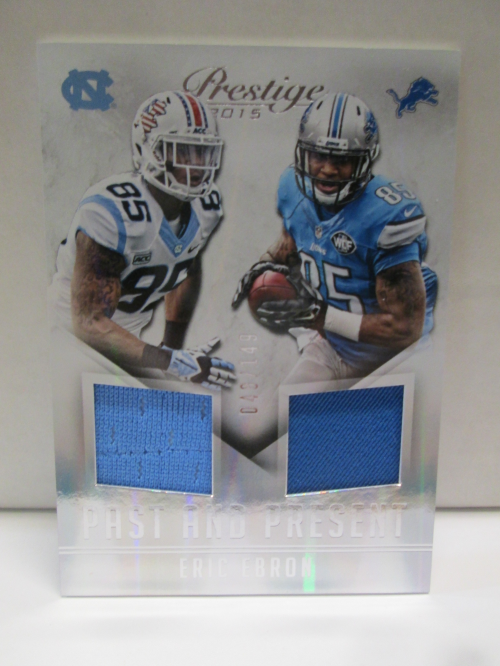 2015 Prestige Past and Present Jerseys #PPEE Eric Ebron