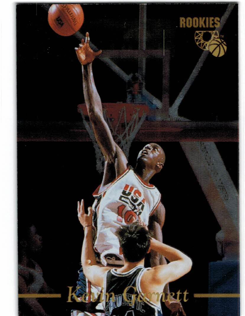 1995 Classic Gold Foil #5 Kevin Garnett