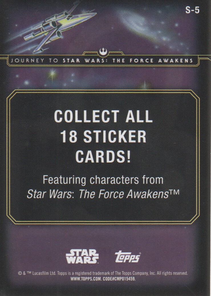 2015-Star-Wars-Journey-to-The-Force-Awakens-Inserts-Cards-Pick-From-List miniature 27