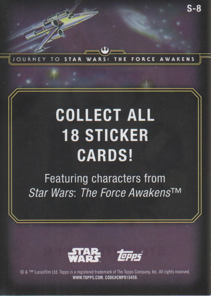 2015-Star-Wars-Journey-to-The-Force-Awakens-Inserts-Cards-Pick-From-List miniature 33