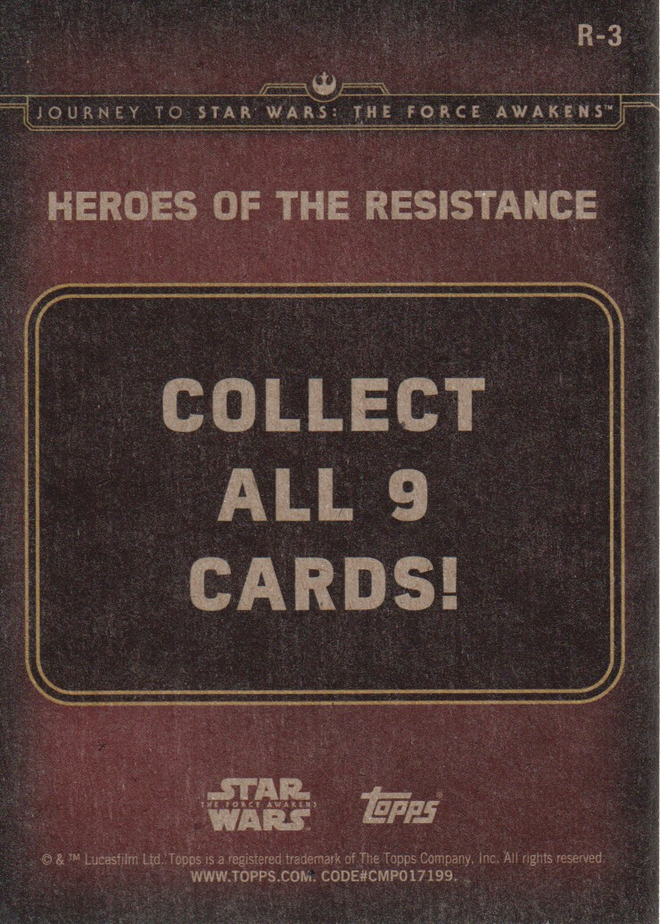 2015-Star-Wars-Journey-to-The-Force-Awakens-Inserts-Cards-Pick-From-List miniature 77
