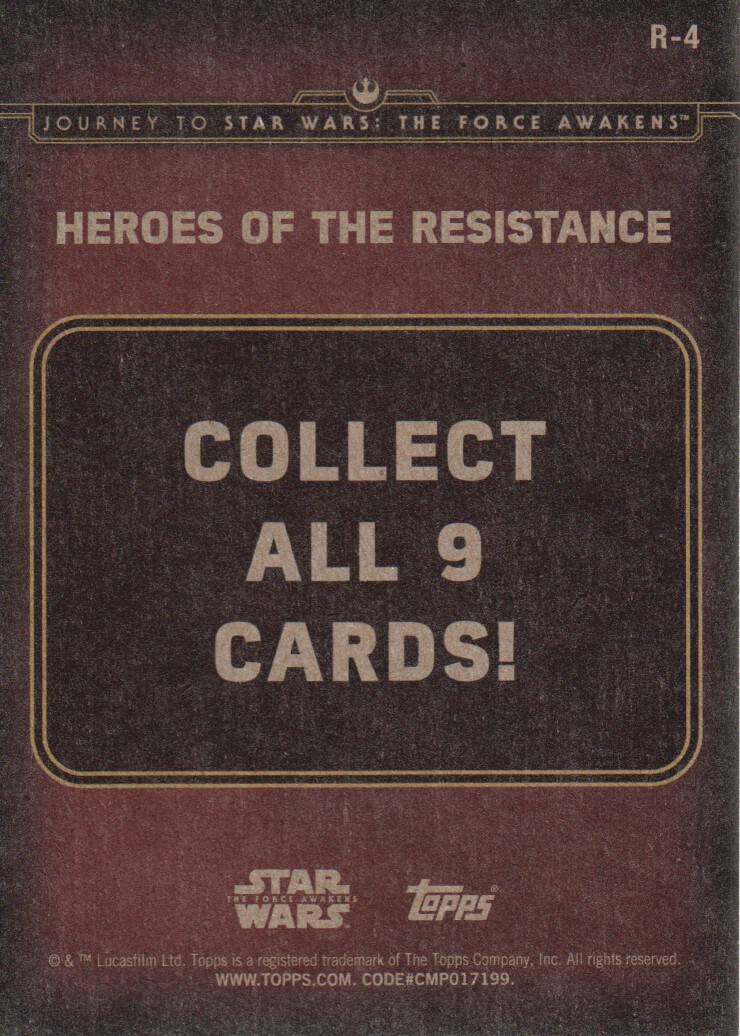 2015-Star-Wars-Journey-to-The-Force-Awakens-Inserts-Cards-Pick-From-List miniature 79