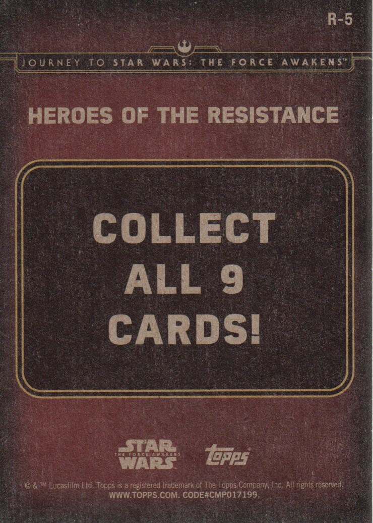 2015-Star-Wars-Journey-to-The-Force-Awakens-Inserts-Cards-Pick-From-List miniature 81
