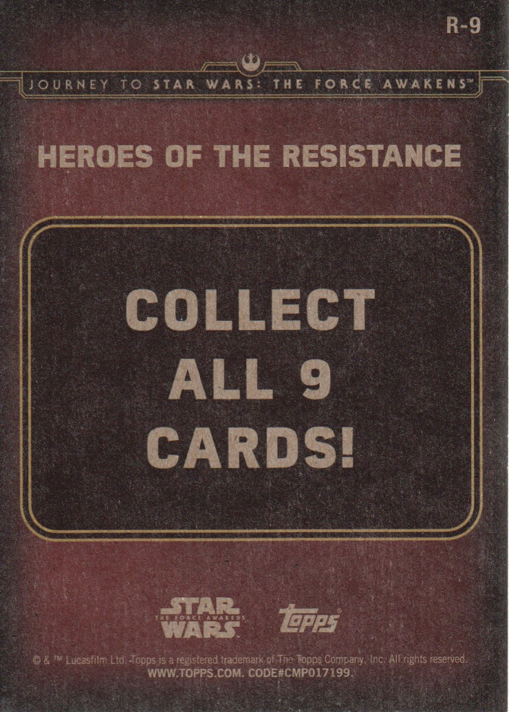 2015-Star-Wars-Journey-to-The-Force-Awakens-Inserts-Cards-Pick-From-List miniature 89
