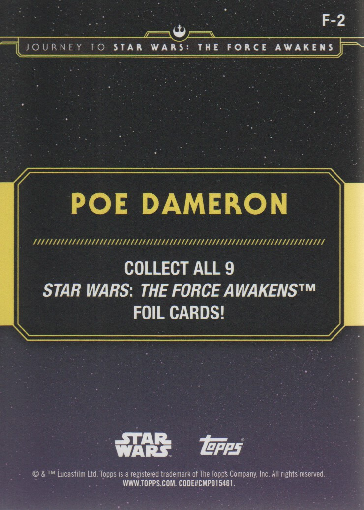 2015-Star-Wars-Journey-to-The-Force-Awakens-Inserts-Cards-Pick-From-List miniature 109