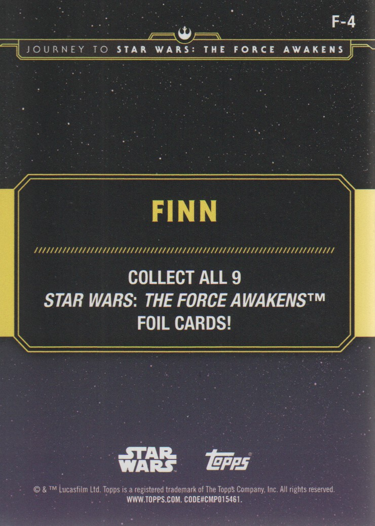 2015-Star-Wars-Journey-to-The-Force-Awakens-Inserts-Cards-Pick-From-List miniature 113