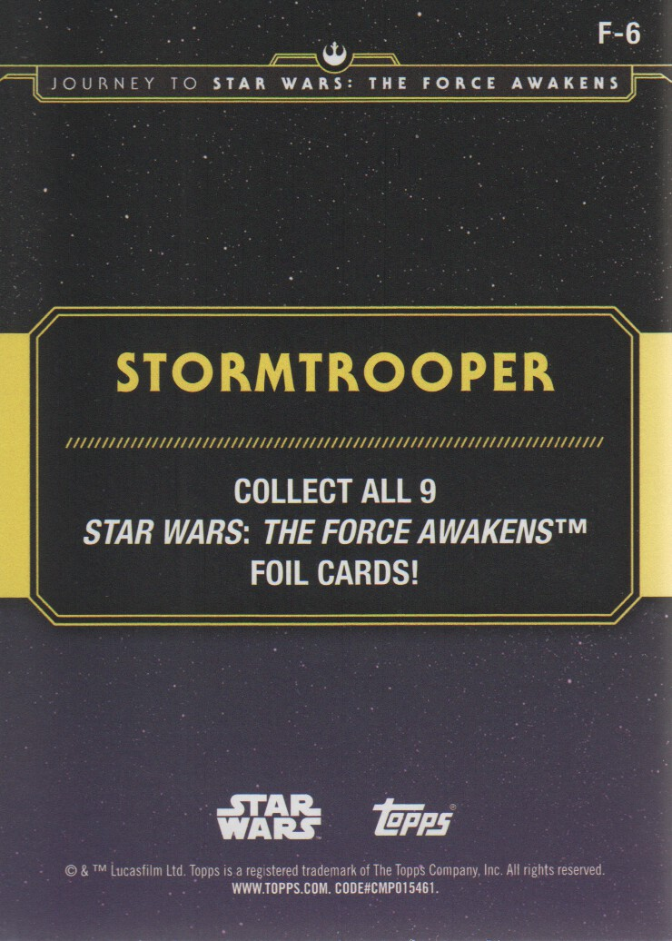 2015-Star-Wars-Journey-to-The-Force-Awakens-Inserts-Cards-Pick-From-List miniature 117