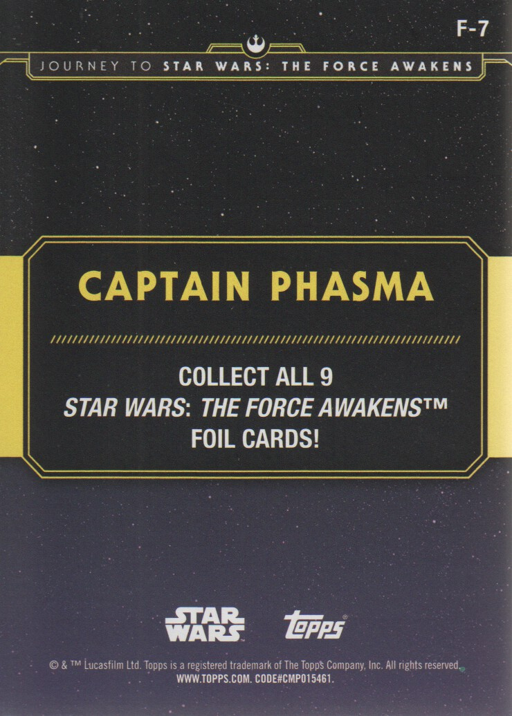 2015-Star-Wars-Journey-to-The-Force-Awakens-Inserts-Cards-Pick-From-List miniature 119