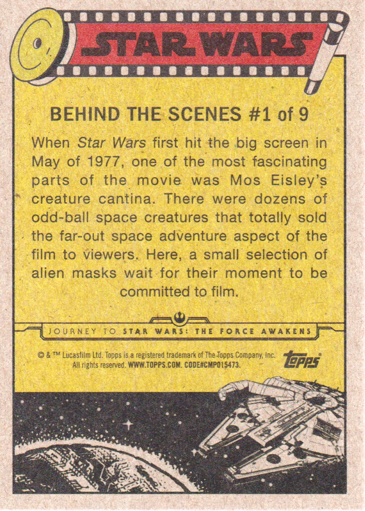 2015-Star-Wars-Journey-to-The-Force-Awakens-Inserts-Cards-Pick-From-List miniature 3
