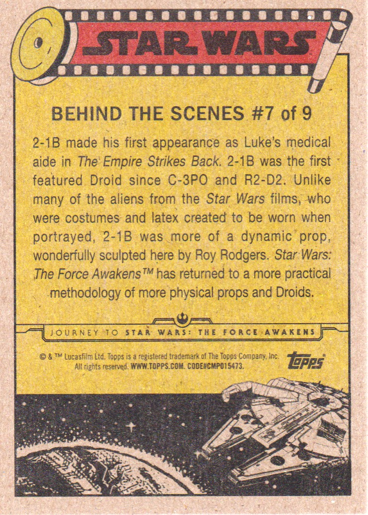 2015-Star-Wars-Journey-to-The-Force-Awakens-Inserts-Cards-Pick-From-List miniature 15