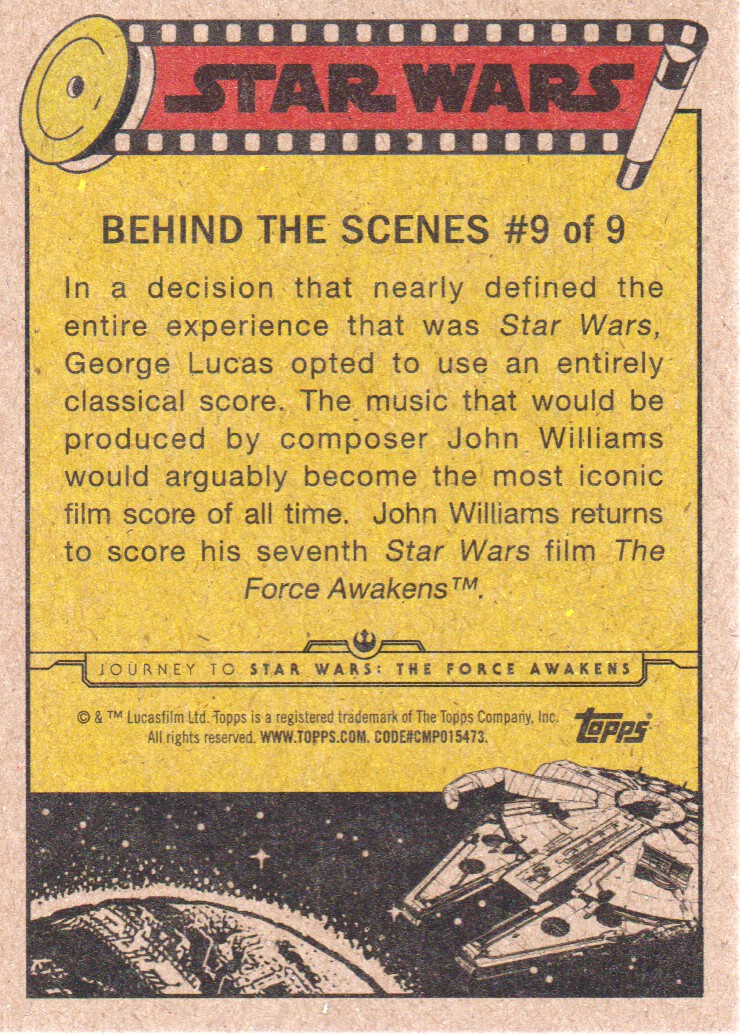 2015-Star-Wars-Journey-to-The-Force-Awakens-Inserts-Cards-Pick-From-List miniature 19