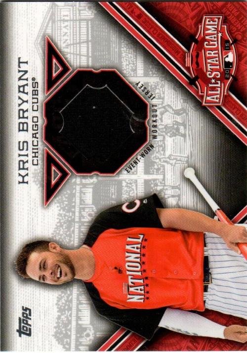 2015 Topps Update All Star Stitches #STITKB Kris Bryant