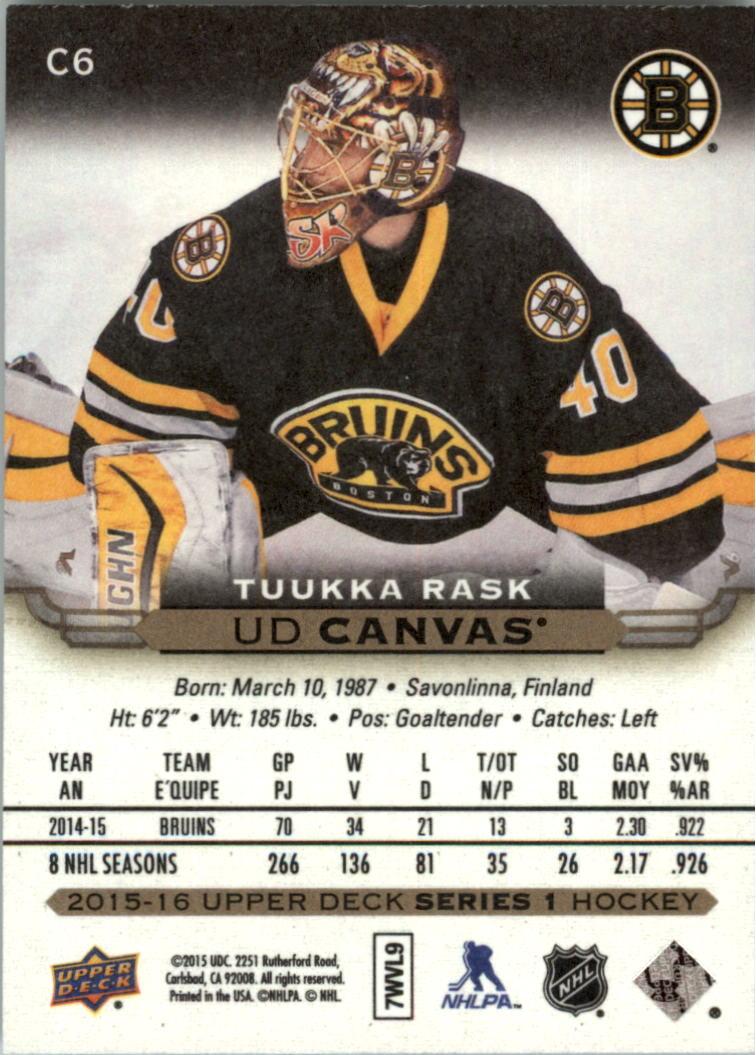 2015-16-Upper-Deck-Canvas-Hockey-Card-Pick miniature 9