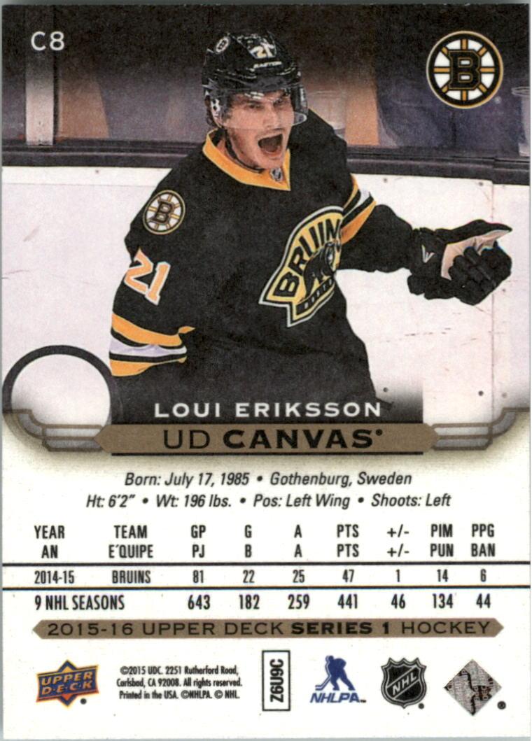 2015-16-Upper-Deck-Canvas-Hockey-Card-Pick miniature 11