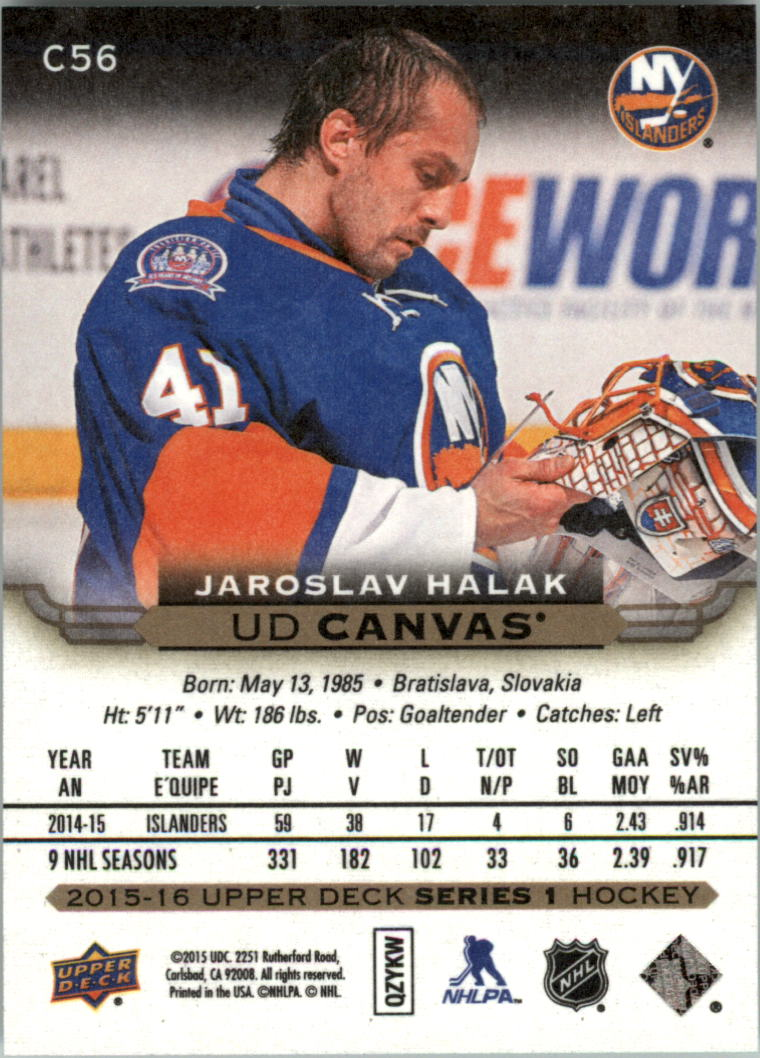 2015-16-Upper-Deck-Canvas-Hockey-Card-Pick miniature 82