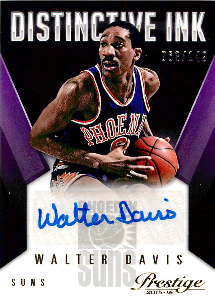 2015-16 Prestige Distinctive Ink #17 Walter Davis/149