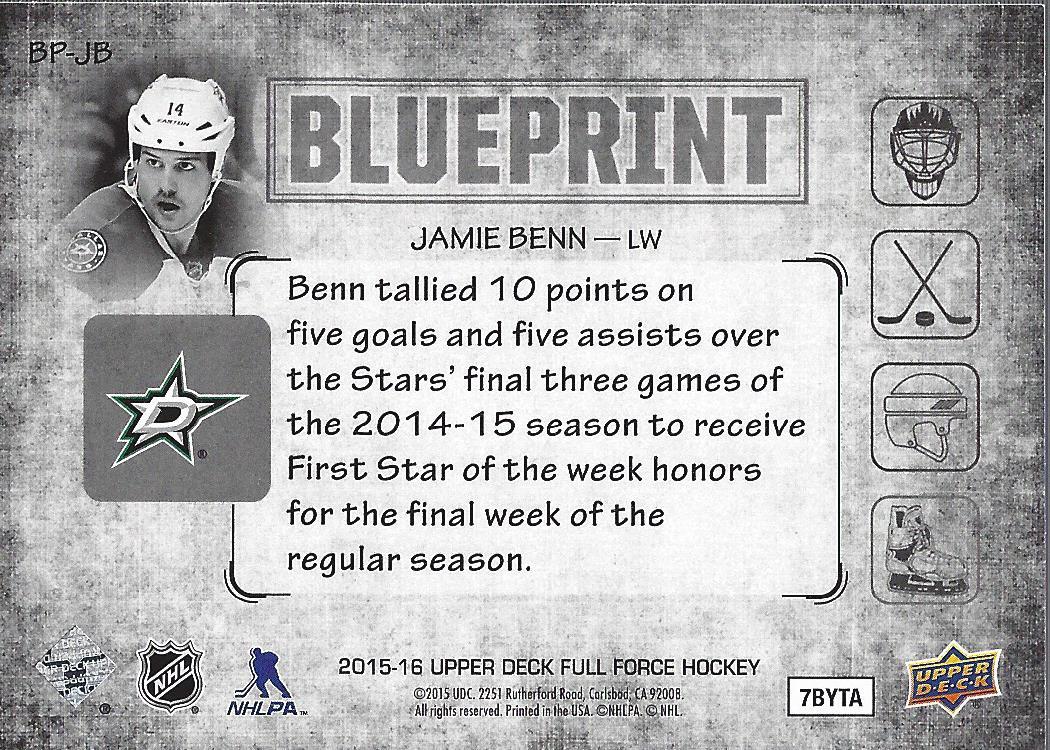 2015-16-Upper-Deck-Full-Force-Hockey-Insert-Card-Pick miniature 5