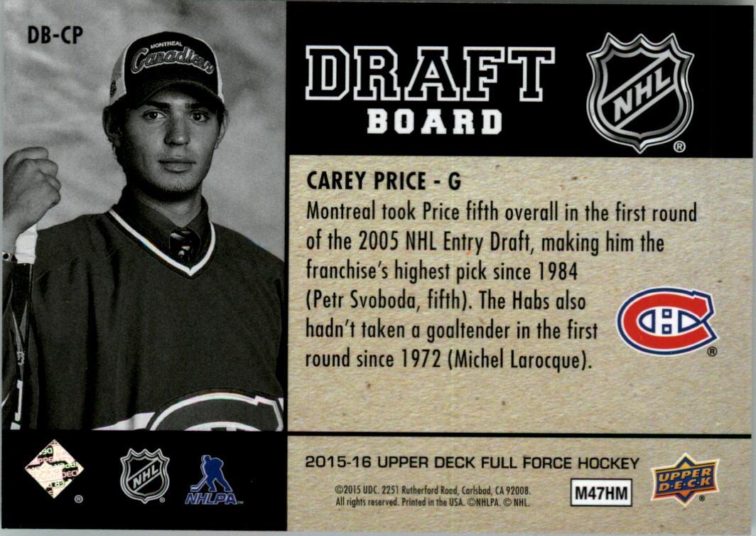 2015-16-Upper-Deck-Full-Force-Hockey-Insert-Card-Pick miniature 13