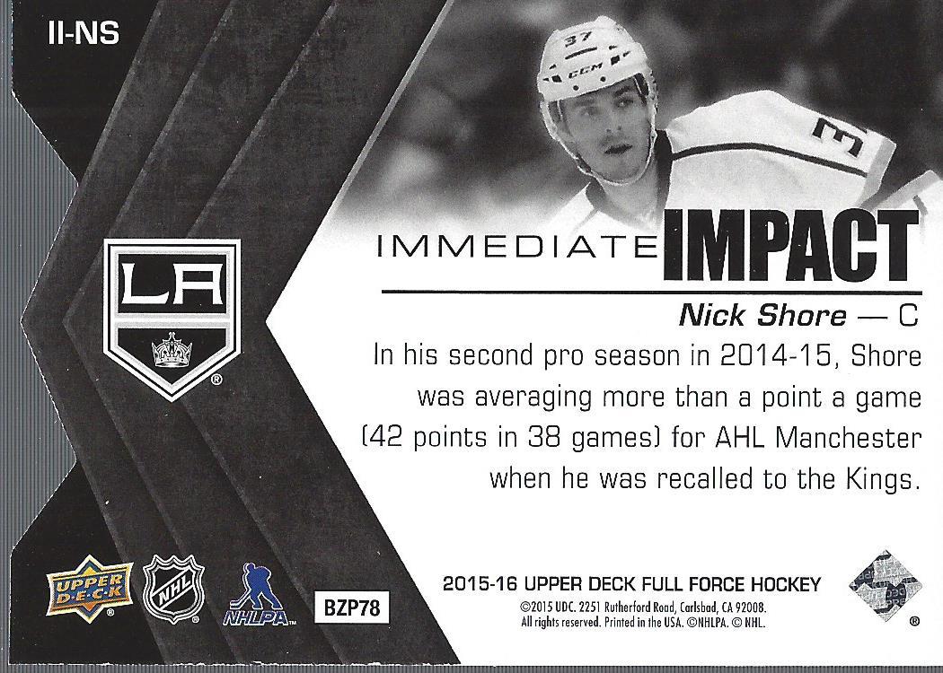 2015-16-Upper-Deck-Full-Force-Hockey-Insert-Card-Pick miniature 25