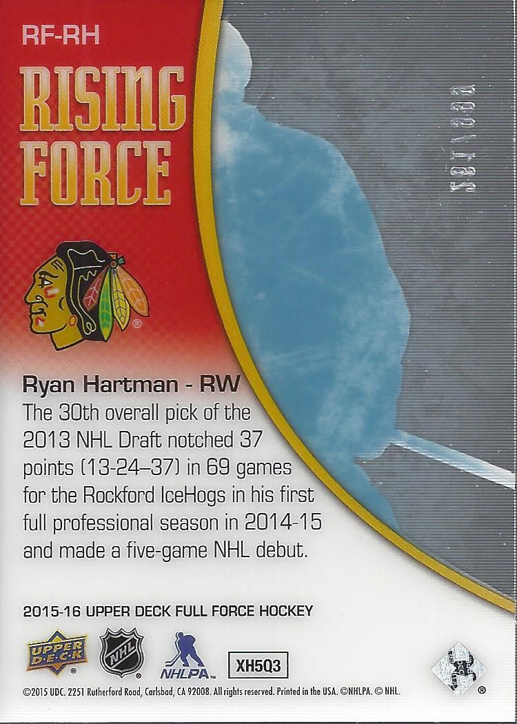2015-16-Upper-Deck-Full-Force-Hockey-Insert-Card-Pick miniature 27