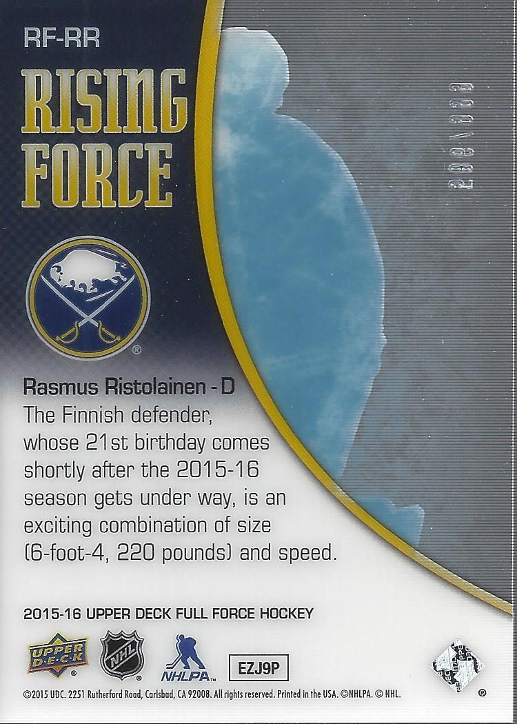 2015-16-Upper-Deck-Full-Force-Hockey-Insert-Card-Pick miniature 29