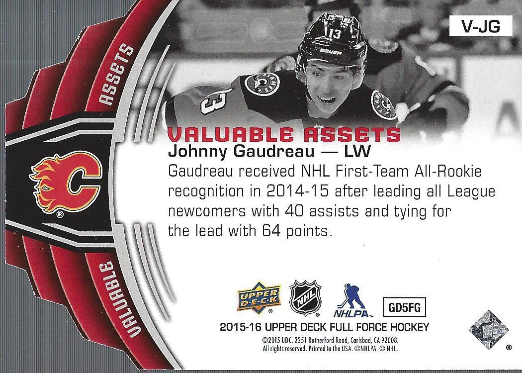 2015-16-Upper-Deck-Full-Force-Hockey-Insert-Card-Pick miniature 33
