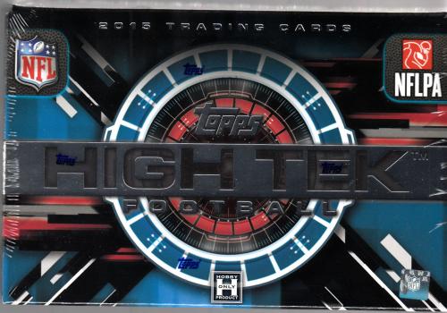 2015 Topps High Tek Football Hobby Box