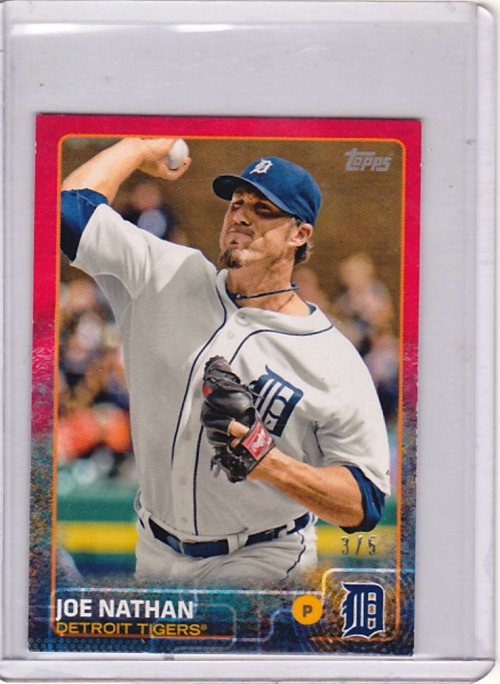 2015 Topps Mini Red #54 Joe Nathan