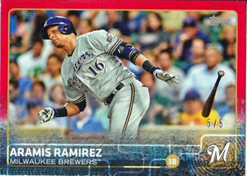 2015 Topps Mini Red #646 Aramis Ramirez