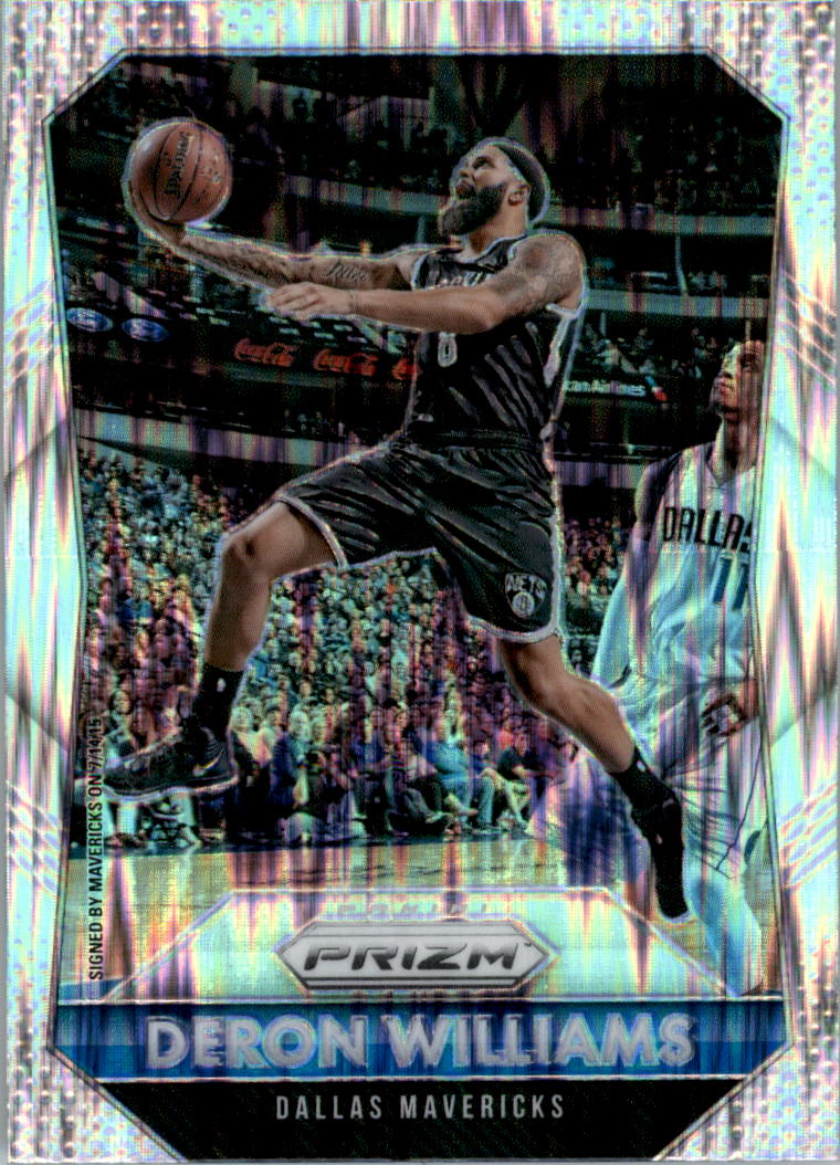 2015-16 Panini Prizm Prizms Flash #30 Deron Williams