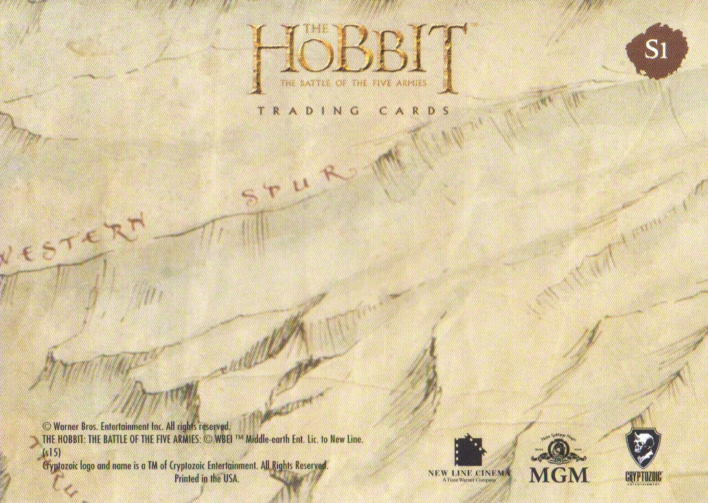 2016-The-Hobbit-Battle-of-the-Five-Armies-Cryptomium-Smaug-Puzzle-Pick-From-List miniature 3