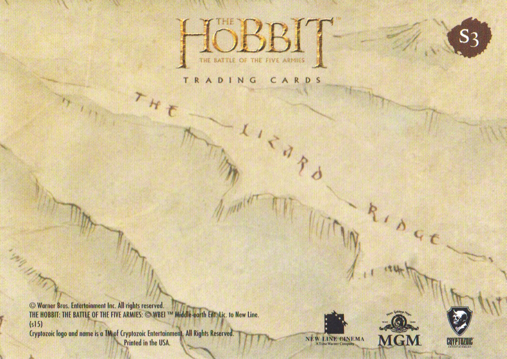 2016-The-Hobbit-Battle-of-the-Five-Armies-Cryptomium-Smaug-Puzzle-Pick-From-List miniature 5