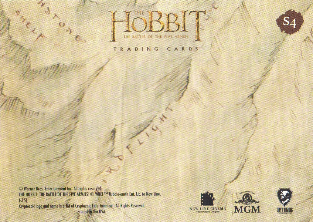 2016-The-Hobbit-Battle-of-the-Five-Armies-Cryptomium-Smaug-Puzzle-Pick-From-List miniature 7