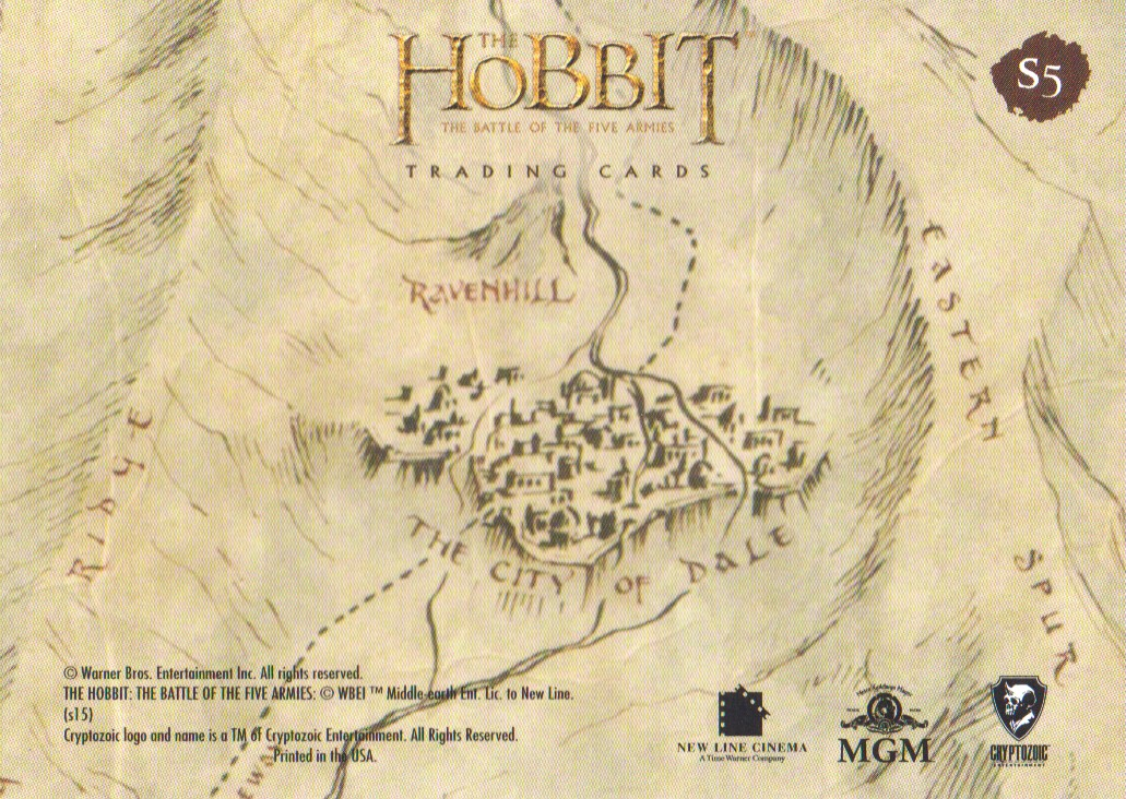 2016-The-Hobbit-Battle-of-the-Five-Armies-Cryptomium-Smaug-Puzzle-Pick-From-List miniature 9