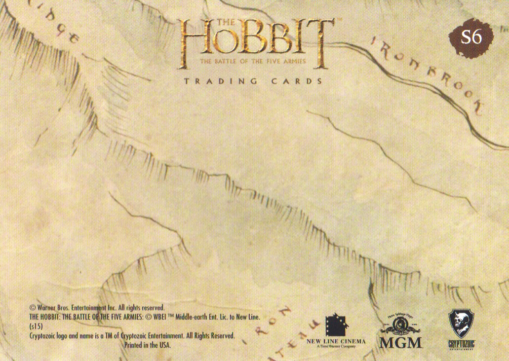 2016-The-Hobbit-Battle-of-the-Five-Armies-Cryptomium-Smaug-Puzzle-Pick-From-List miniature 11