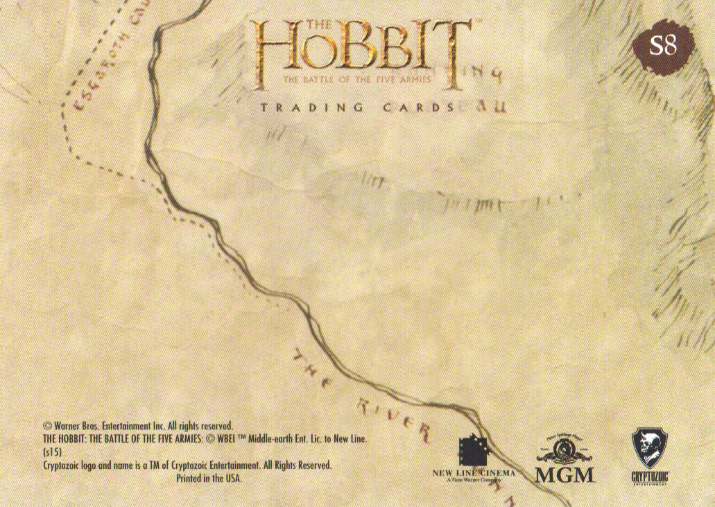 2016-The-Hobbit-Battle-of-the-Five-Armies-Cryptomium-Smaug-Puzzle-Pick-From-List miniature 15