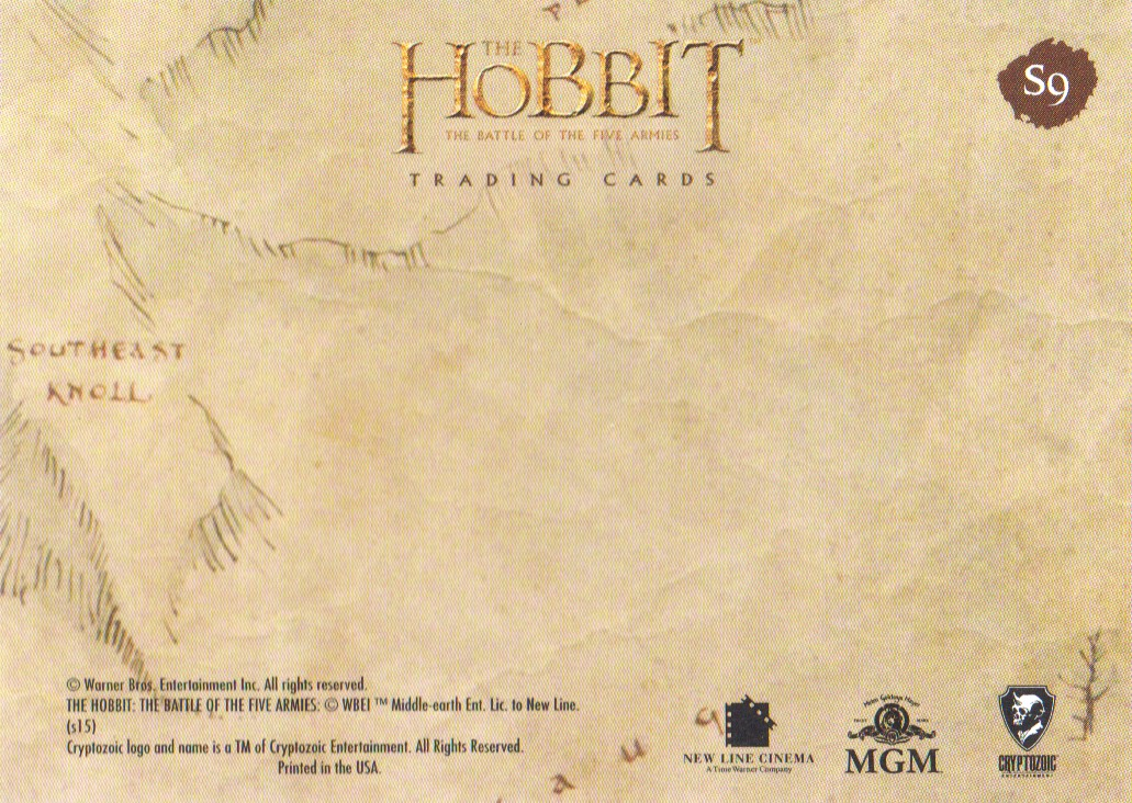 2016-The-Hobbit-Battle-of-the-Five-Armies-Cryptomium-Smaug-Puzzle-Pick-From-List miniature 17