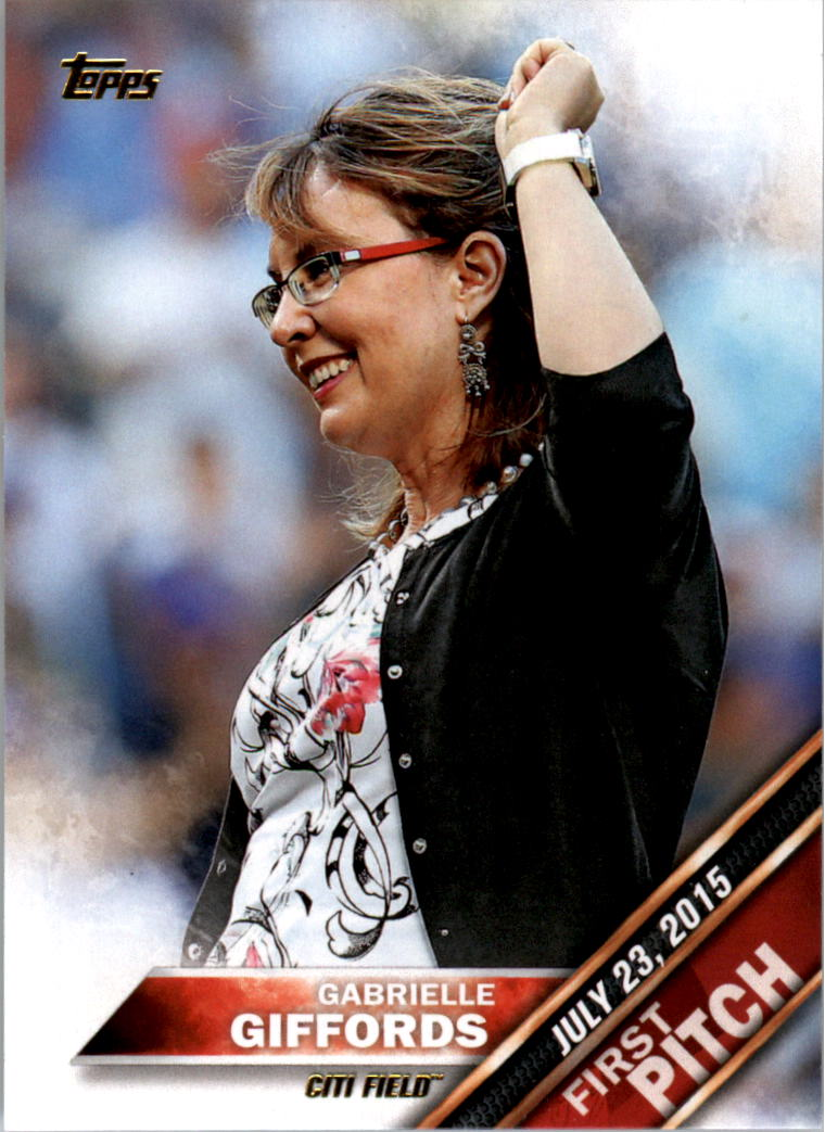 2016 Topps First Pitch #FP2 Gabrielle Giffords