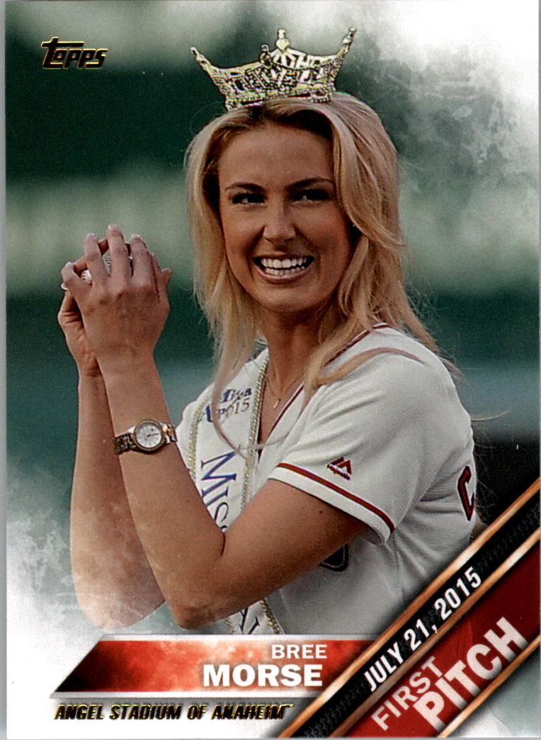 2016 Topps First Pitch #FP6 Bree Morse