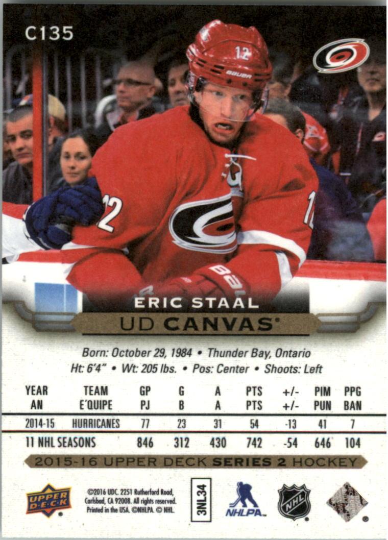 2015-16-Upper-Deck-Canvas-Hockey-Card-Pick miniature 153