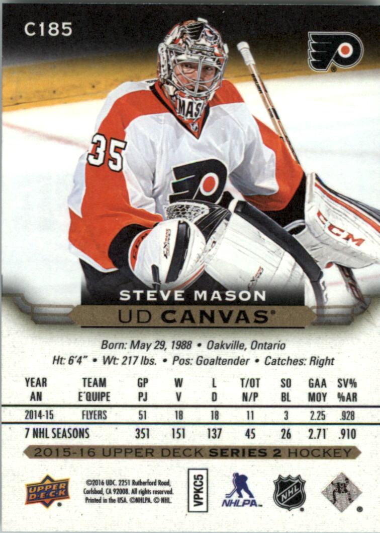 2015-16-Upper-Deck-Canvas-Hockey-Card-Pick miniature 197