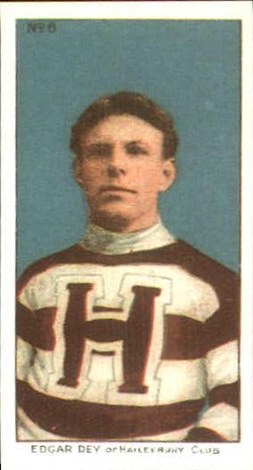 1910-11 C56 #6 Edgar Dey RC
