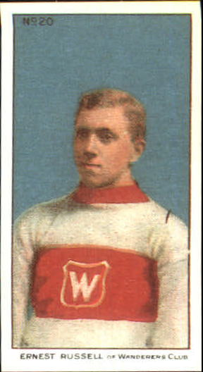 1910-11 C56 #20 Ernest Russell RC