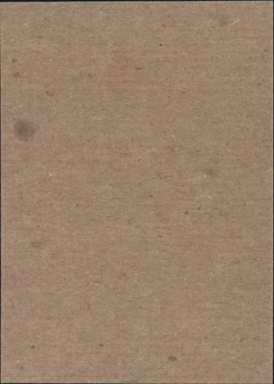 1951-52 Parkhurst #33 Ed Kryznowski UER RC back image