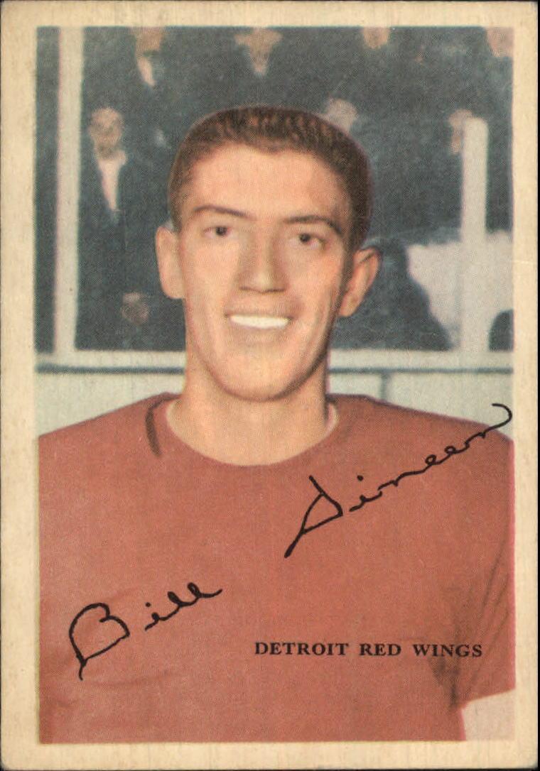 1953-54 Parkhurst #37 Bill Dineen UER RC